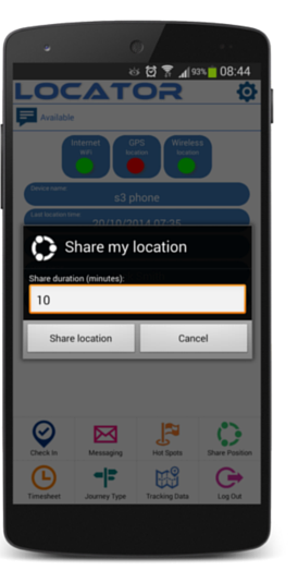 05 - Nexus 5 - Share My Position